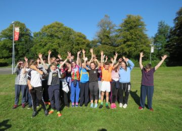 Moate-CS-1st-year-students-get-to-know-each-other-and-enjoy-the-sunshine