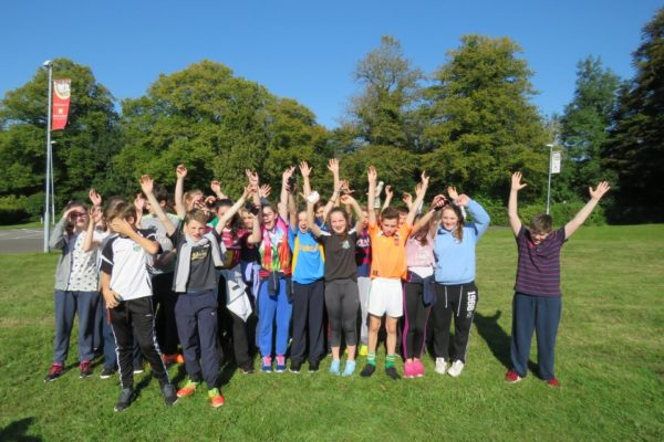 Moate CS 1st year students get to know each other and enjoy the sunshine (1)